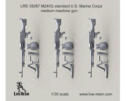 LRE35087 M240G standard U.S. Marine Corps medium machine gun