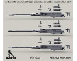 LRE35146 M3D/Dragon M-50 .50 Caliber Machine Gun Body