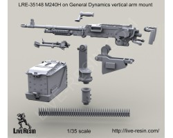 LRE35148 M240H on General Dynamics vertical arm mount
