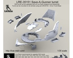 LRE35151 Live Resin S.A.G. Turret
