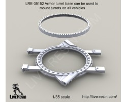 LRE35152 Armor Turret Base for all Vehicles