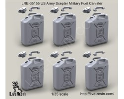 LRE35155 US Army Scepter Military Fuel Canister