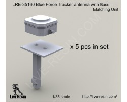 LRE35160 Blue Force Tracker antenna with Base Matching Unit