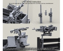 LRE35162 MOUNTING BRACKETS for Swing Arms and Vertical Arm Gun Mounts.