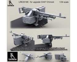 LRE35168 CH47 Chinook Back Ramp Weapon Mount with M240D.