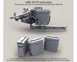 LRE35170 M240H universal spare ammo boxes.