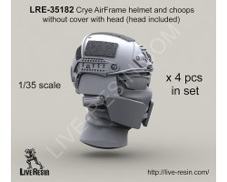 LRE35182 Airframe helmet and choops without cover with head