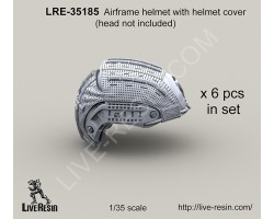 LRE35185 Airframe helmet with helmet cover