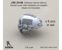 LRE35186 Airframe helmet without helmet cover with headsets rail adaptor