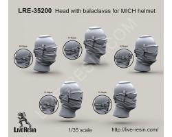 LRE35200 Head with balaclavas for MICH helmet