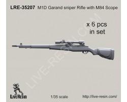 LRE35207 M1D Garand sniper Rifle with M84 Scope