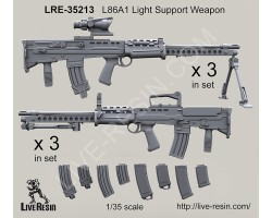 LRE35213 L86A1 Light Support Weapon
