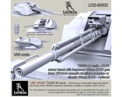 LRE35302 TIGER-M series - RCW armoured turret with improved 30mm 2A72 gun