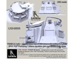 LRE35303 TIGER-M series - Special Operations Forces assault armor turret with panoramic bulletproof glass