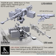 LRE35308 TIGER-M series - 6P58 Kord 12.7mm caliber heavy machine gun