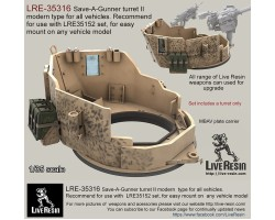 LRE35316 Save-A-Gunner turret II modern type for all vehicles