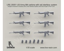 LRE35001 US Army M4 carbine with rail interface system