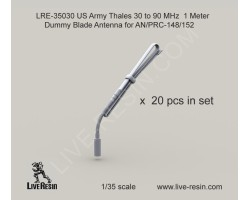LRE35030 Thales 30 to 90 MHz 1 Meter Dummy Blade Antenna for AN/PRC-148/152
