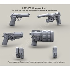 LRE35031 US Army M9 pistol