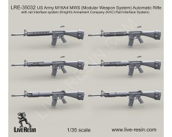 LRE35032 US Army M16A4 MWS (Modular Weapon System) Automatic Rifle