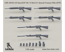 LRE35034 US Navy/SOF Mk 12 Mod 0/1 Special Purpose Rifle (SPR)
