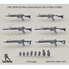 LRE35039 US Navy Seals Weapon Mk.18 Rifle (CQBR)
