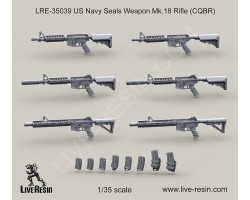 LRE35039 US Navy Seals Weapon Mk.18 Rifle (CQBR)