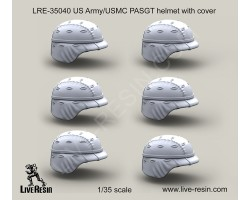 LRE35040 US Army PASGT helmet with cover