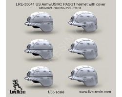 LRE35041 US Army PASGT helmet with cover