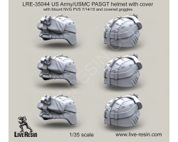 LRE35044 US Army PASGT helmet with cover