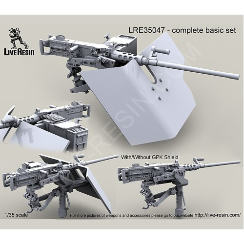 lre35047 m2 browning 50 caliber machine gun on mk93 machine gun