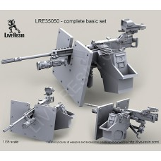 LRE35050 M2 Browning .50 Caliber Machine Gun on MK93 Machine Gun Mount