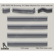 LRE35053 M2 Browning .50 Caliber Machine Gun ammo belts set