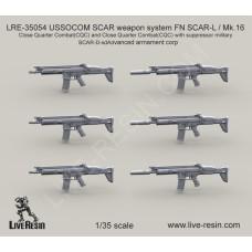 LRE35054 USSOCOM SCAR weapon system FN SCAR-L / Mk.16
