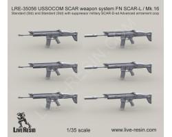LRE35056 USSOCOM SCAR weapon system FN SCAR-L