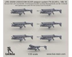 LRE35058 USSOCOM SCAR weapon system FN SCAR-L