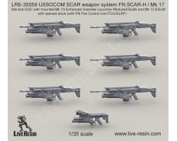 LRE35059 USSOCOM SCAR weapon system FN SCAR-H