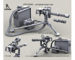 LRE35060 M134D Minigun on M3 tripod with early/late barrel clamp