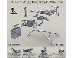 LRE35075 MK19-3 40mm Grenade Machine Gun