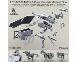 LRE35076 MK19-3 40mm Grenade Machine Gun