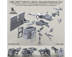 LRE35077 MK19-3 40mm Grenade Machine Gun