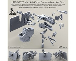 LRE35078 MK19-3 40mm Grenade Machine Gun