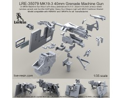 LRE35079 MK19-3 40mm Grenade Machine Gun
