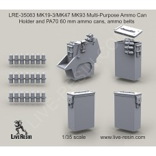 LRE35083 MK19-3/MK47 MK93 Multi-Purpose Ammo Can Holder and PA70 60 mm ammo cans