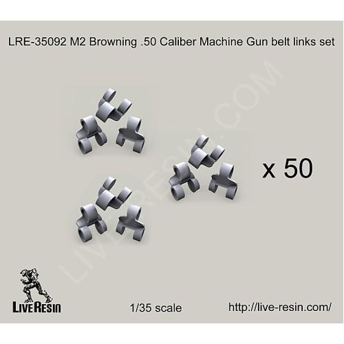 LRE35092 M2 Browning  50 Caliber Machine Gun belt links set