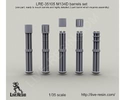 LRE35105 M134D barrels set