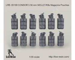 LRE35109 CONDOR 5.56 mm MOLLE Rifle Magazine Pouches