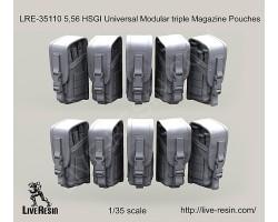 LRE35110 5,56 HSGI Universal Modular triple Magazine Pouches