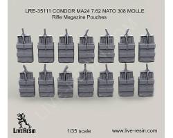 LRE35111 CONDOR MA24 7.62 NATO 308 MOLLE Rifle Magazine Pouches