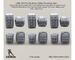 LRE35114 US Army Utility Pouches Set